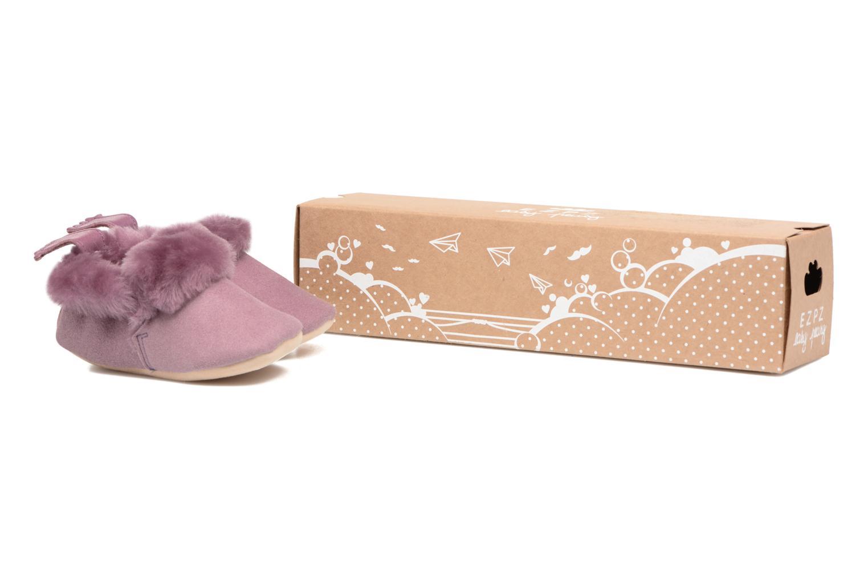 Chaussons Easy Peasy Minion Violet vue détail/paire