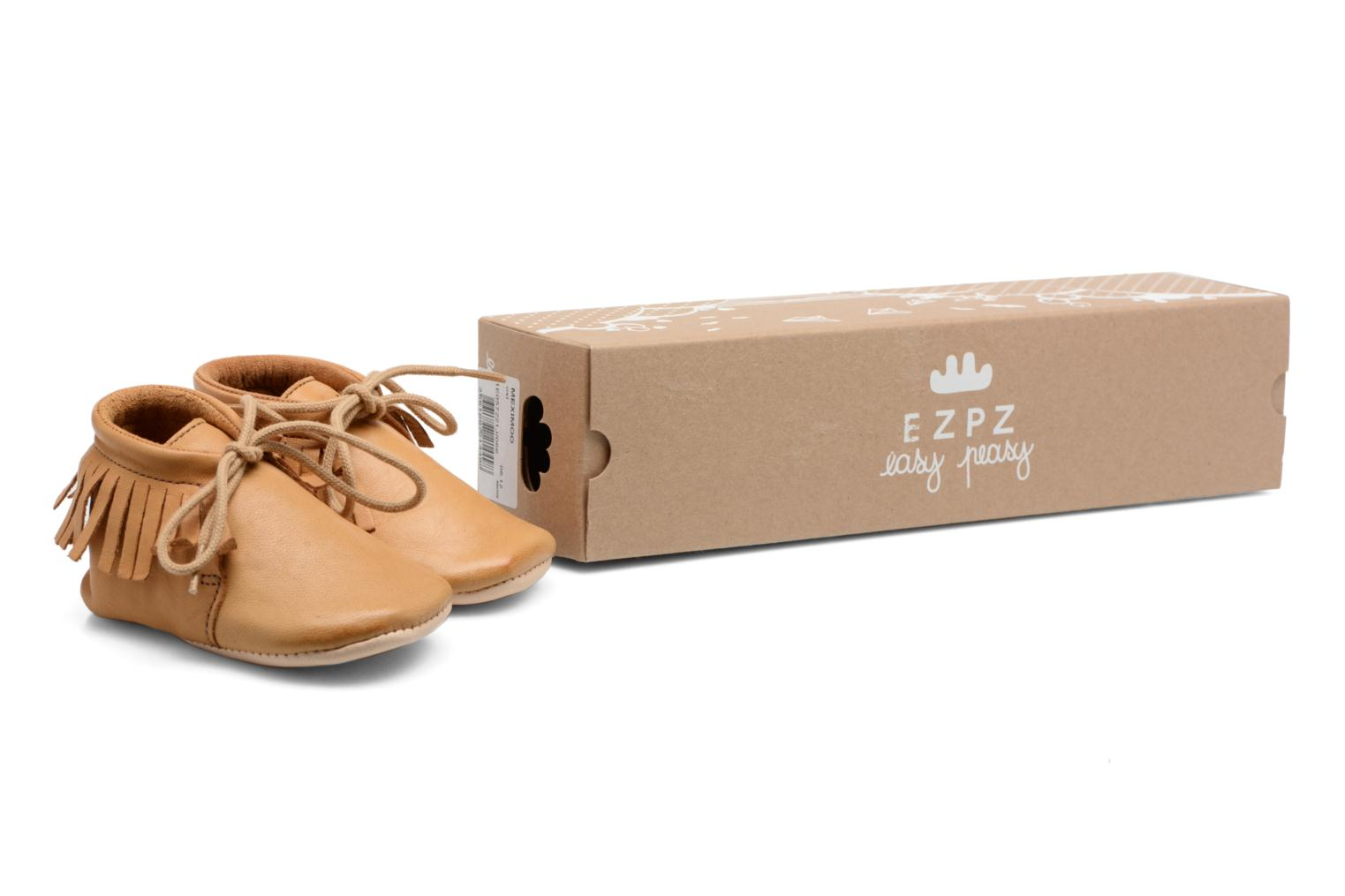 Chaussons Easy Peasy Meximoo Marron vue 3/4