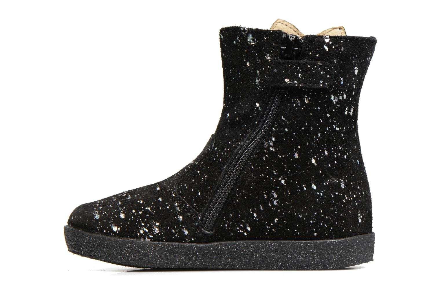 Ankle boots Naturino Falcotto 1597 Black front view
