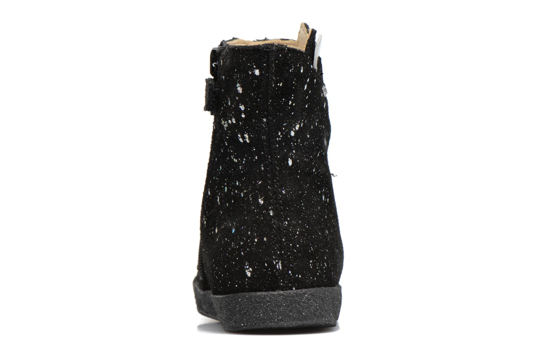 Bottines et boots Naturino Falcotto 1597 Noir vue droite
