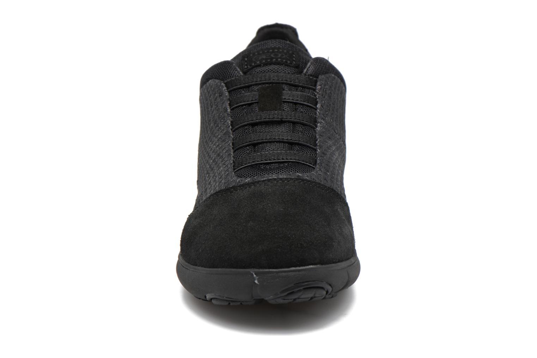 Baskets Geox D Nebula A D741EA Noir vue portées chaussures
