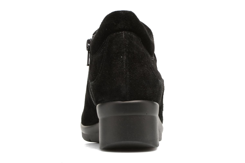 Sneaker The Flexx Paul Walker schwarz ansicht von rechts