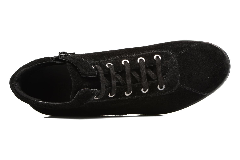 Sneaker The Flexx Paul Walker schwarz ansicht von links