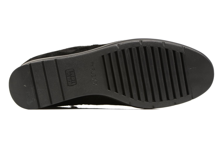 Sneaker The Flexx Paul Walker schwarz ansicht von oben
