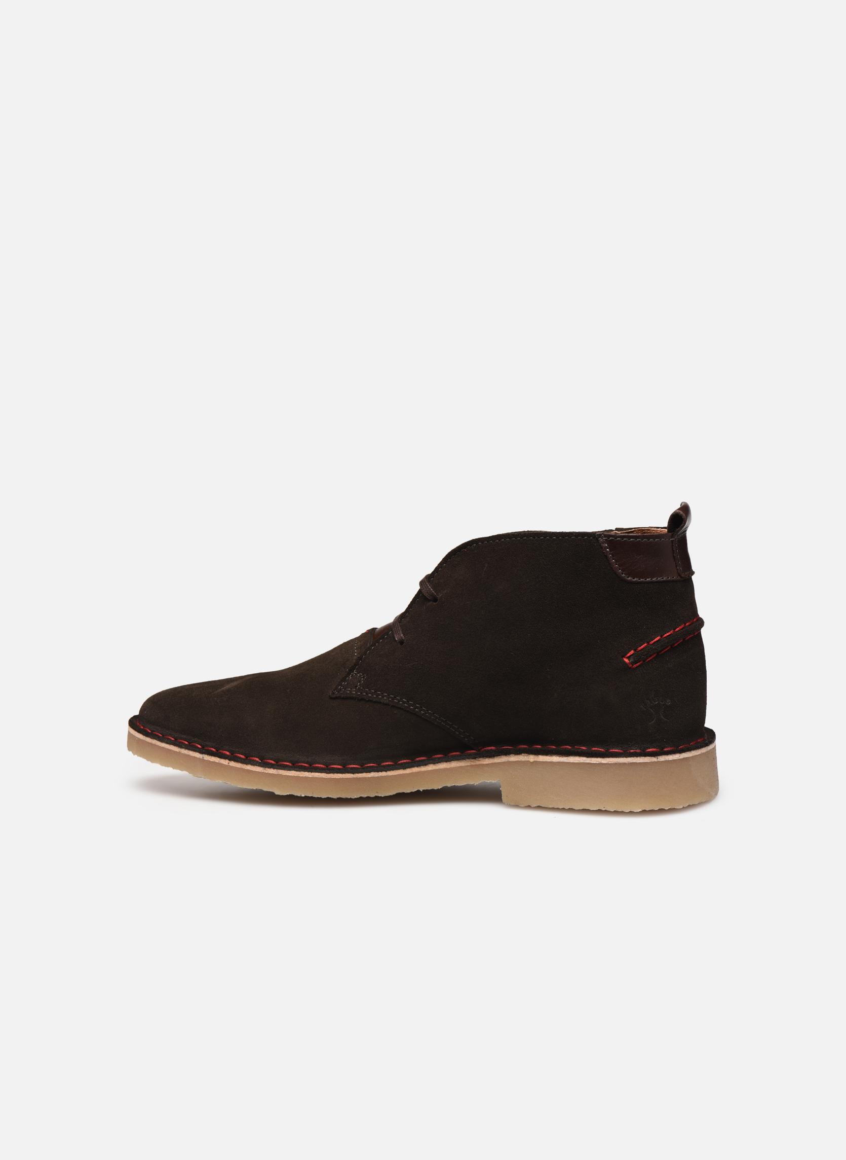 Boots en enkellaarsjes Faguo LEBANON02 Grijs voorkant