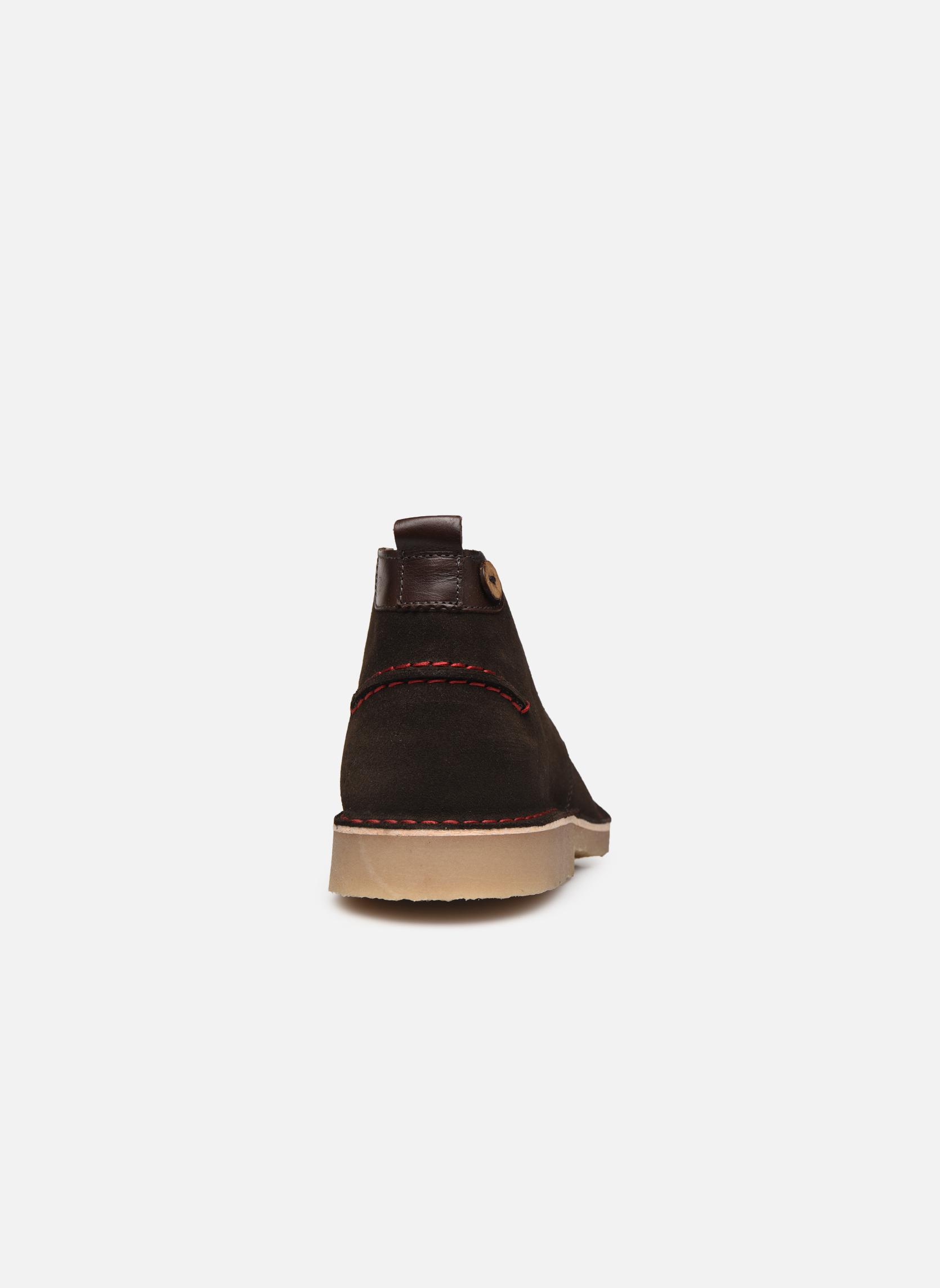 Boots en enkellaarsjes Faguo LEBANON02 Grijs rechts