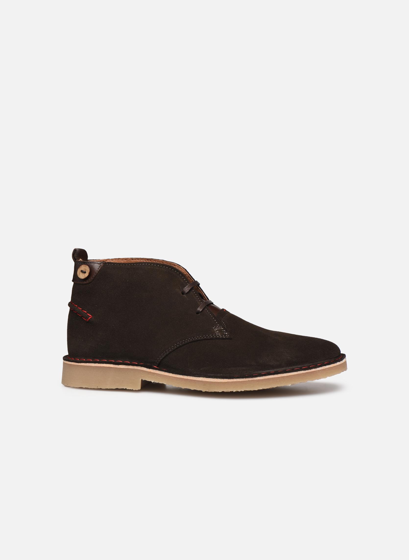 Boots en enkellaarsjes Faguo LEBANON02 Grijs achterkant
