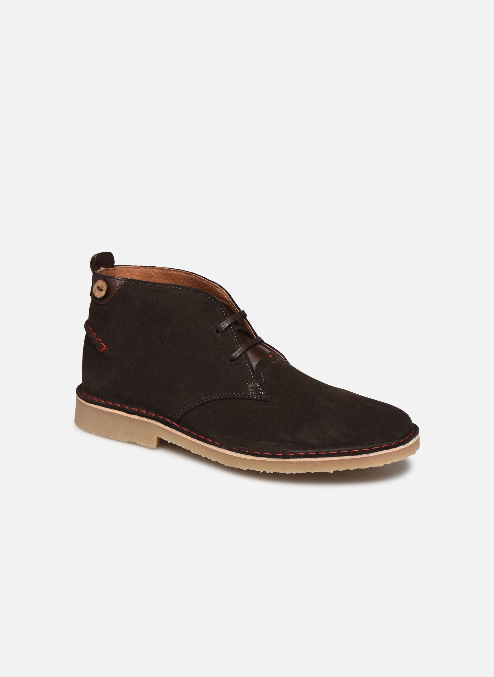 Boots en enkellaarsjes Faguo LEBANON02 Grijs detail