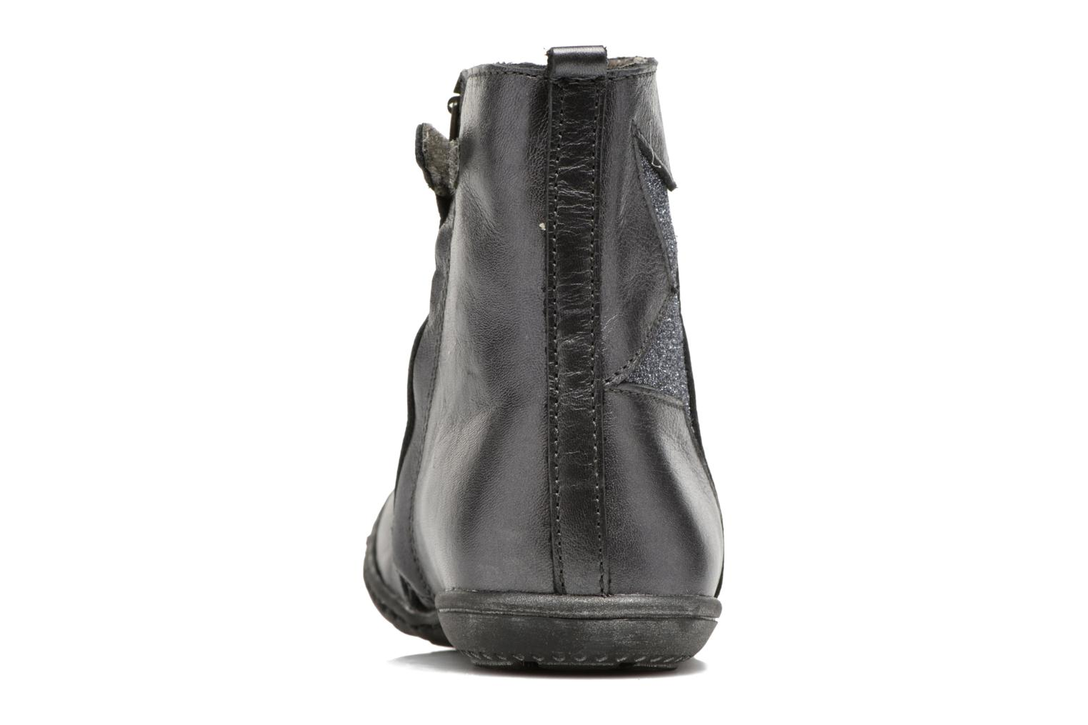 Ankle boots Little Mary Constance Silver view from the right