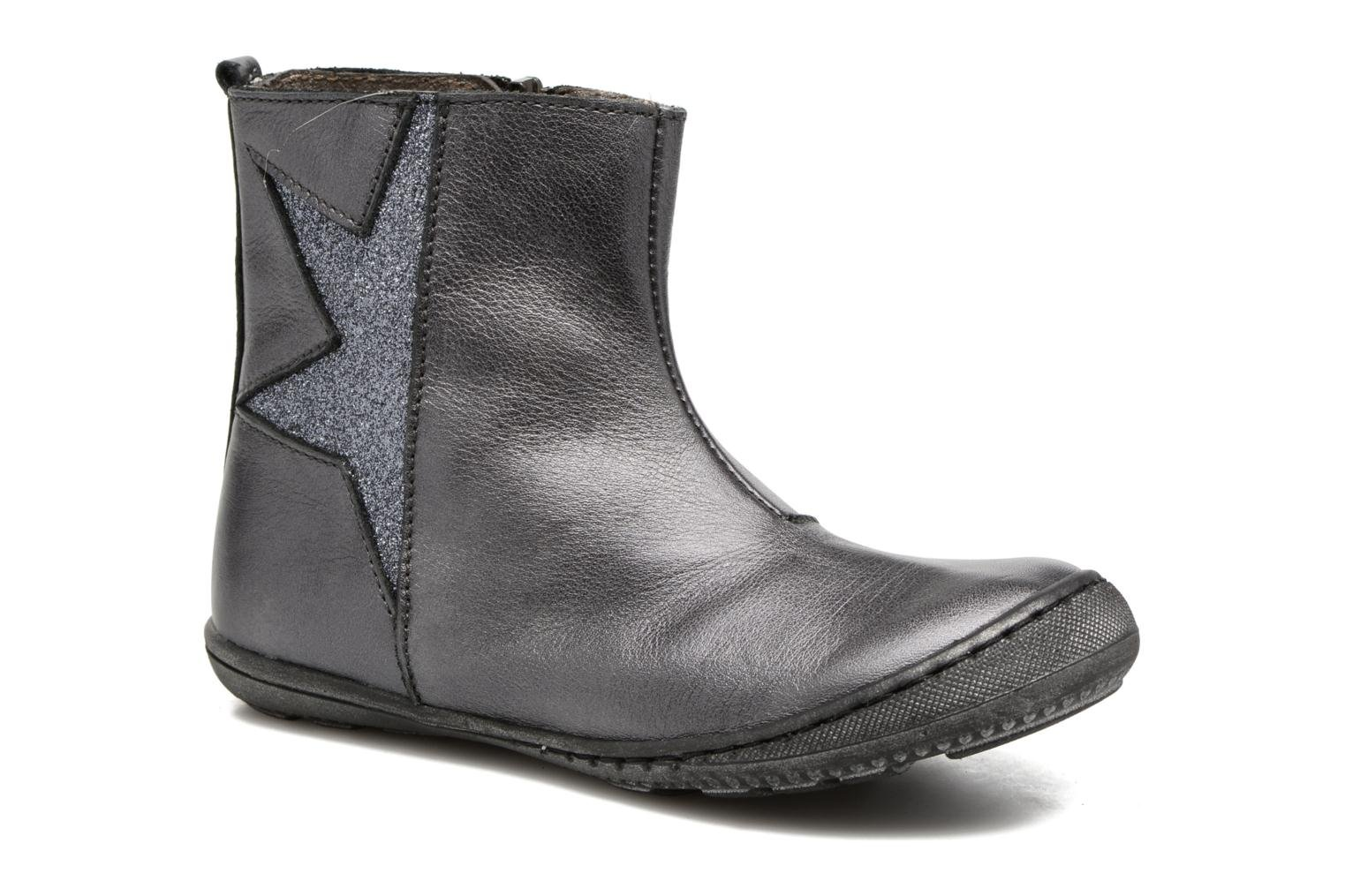 Ankle boots Little Mary Constance Silver detailed view/ Pair view