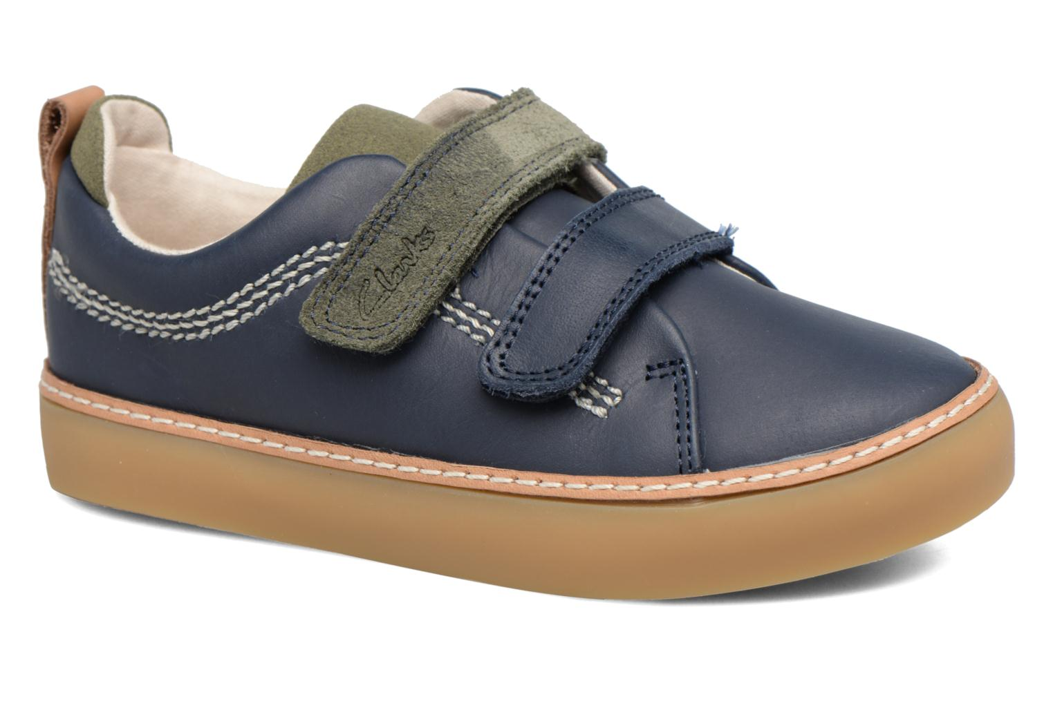Brill Toy Inf Navy leather