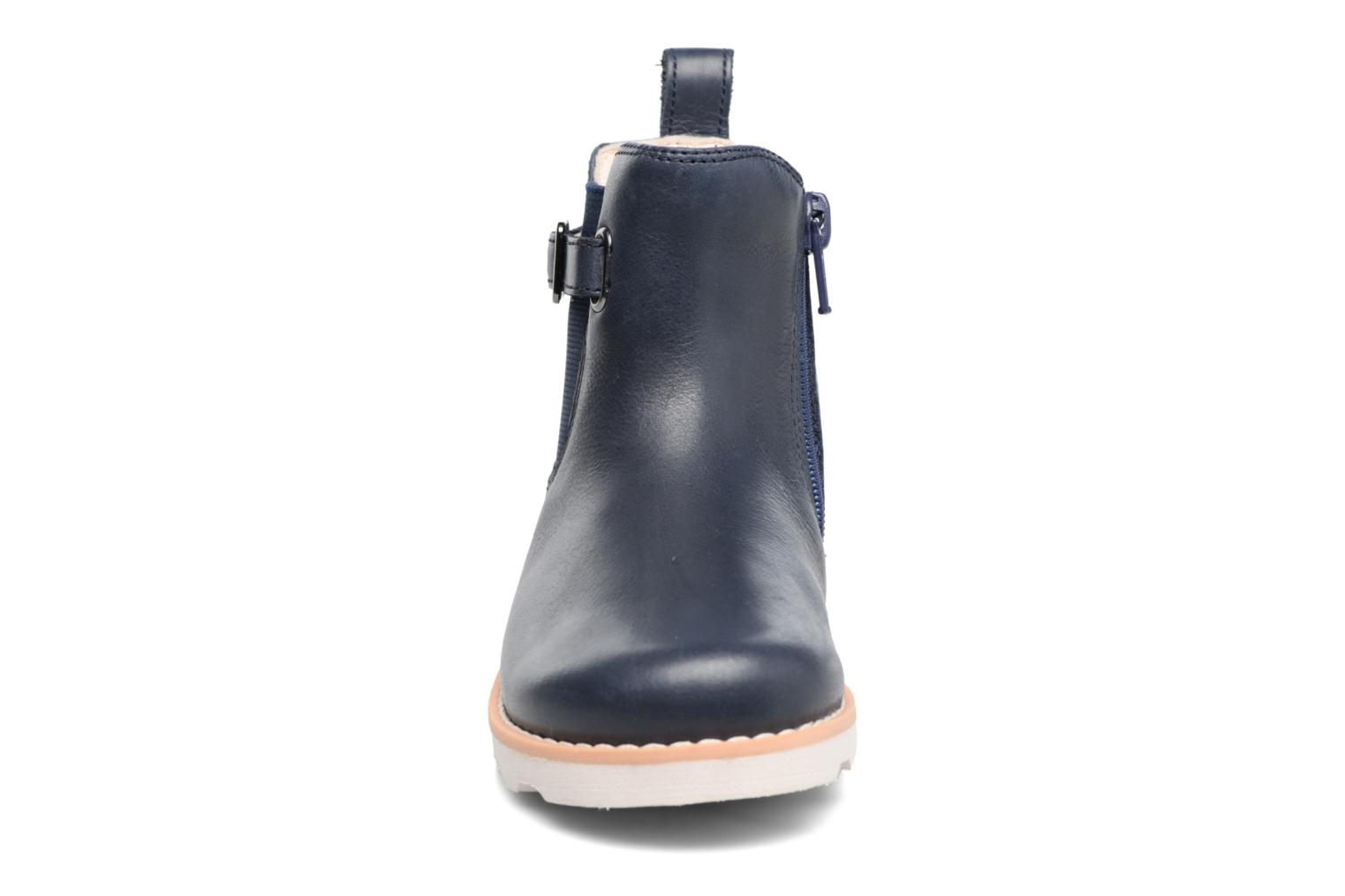 Boots en enkellaarsjes Clarks Crown Art Inf Blauw model