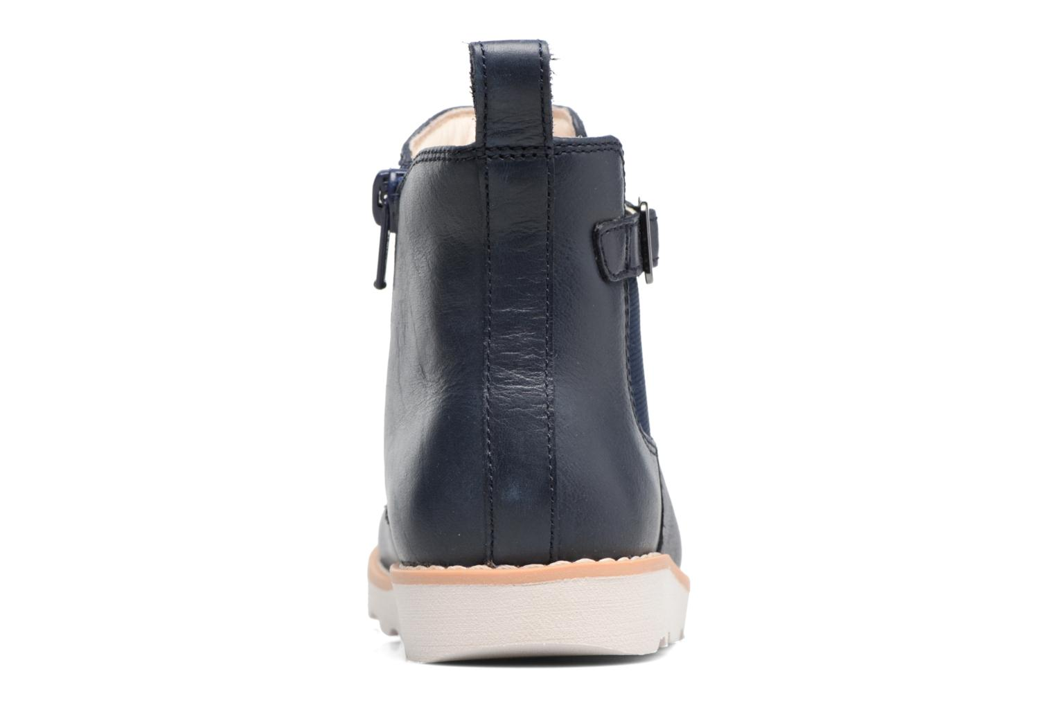 Crown Art Inf Navy leather