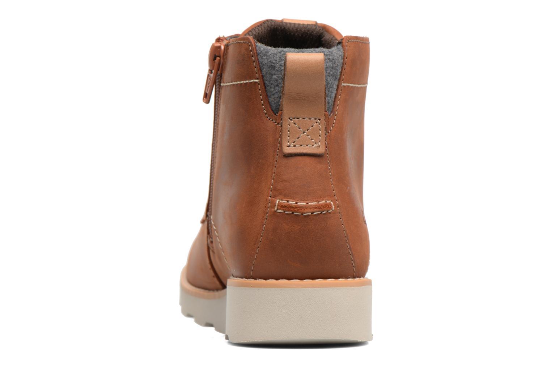 Bottines et boots Clarks Dexy Top Marron vue droite