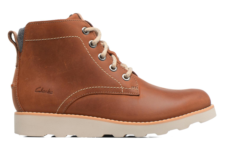 Bottines et boots Clarks Dexy Top Marron vue derrière