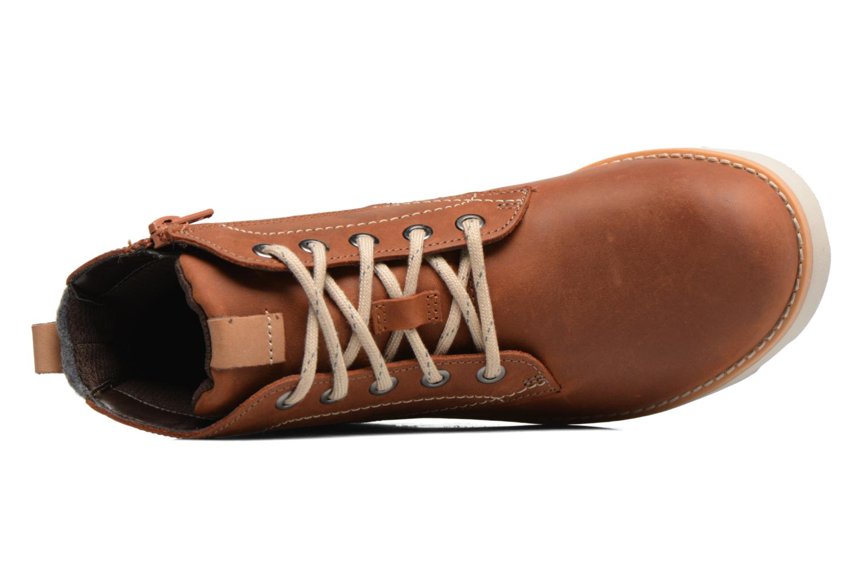 Bottines et boots Clarks Dexy Top Marron vue gauche