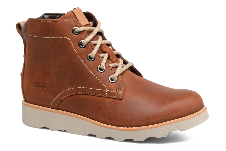 Bottines et boots Clarks Dexy Top Marron vue détail/paire