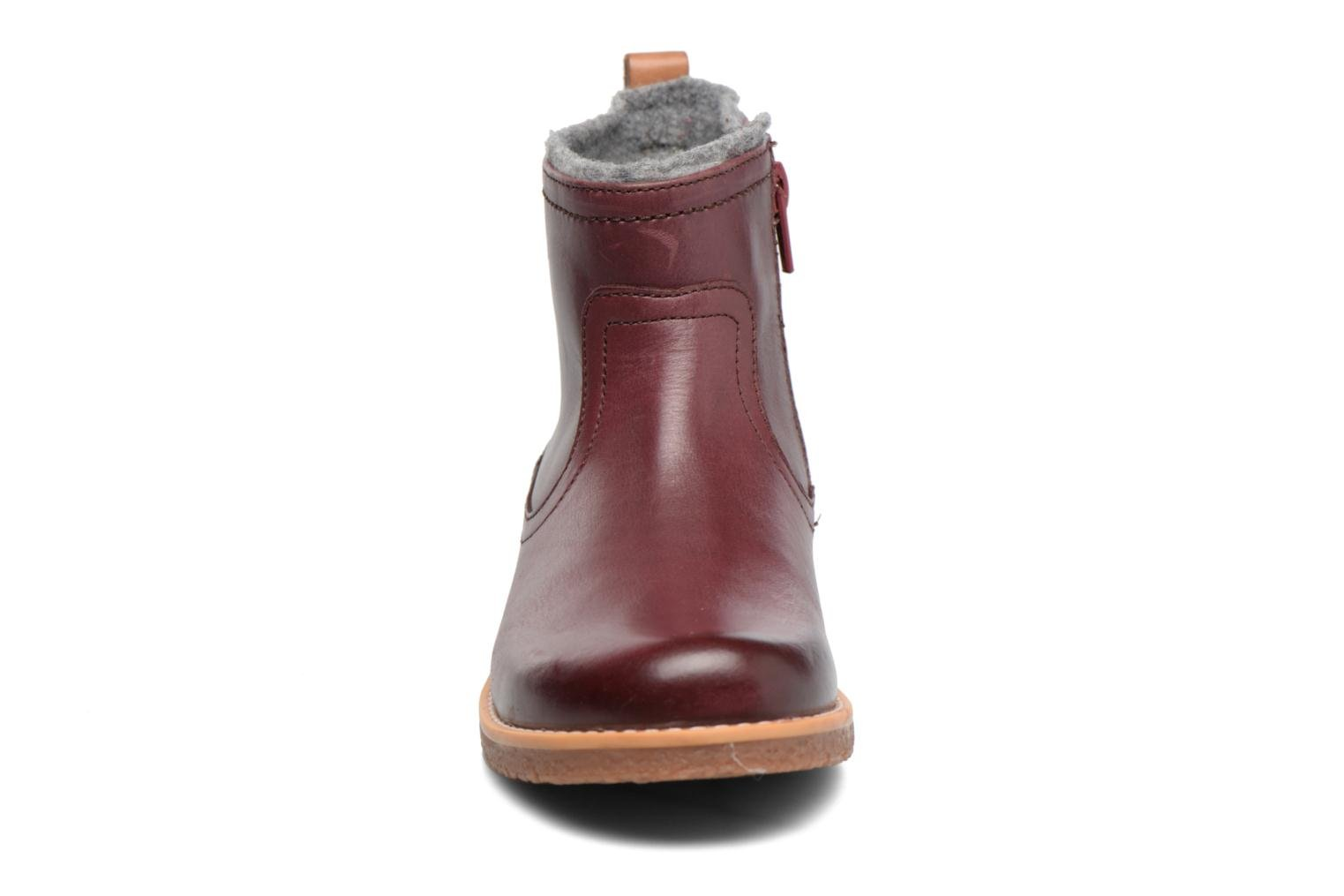 Tildy Moe Burgundy leather