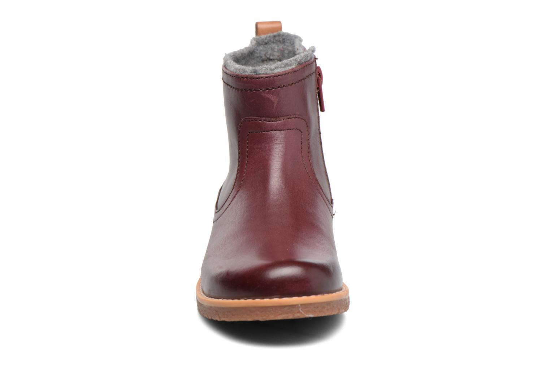 Bottines et boots Clarks Tildy Moe Bordeaux vue portées chaussures