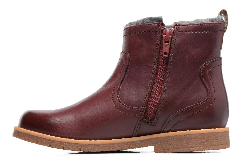 Bottines et boots Clarks Tildy Moe Bordeaux vue face