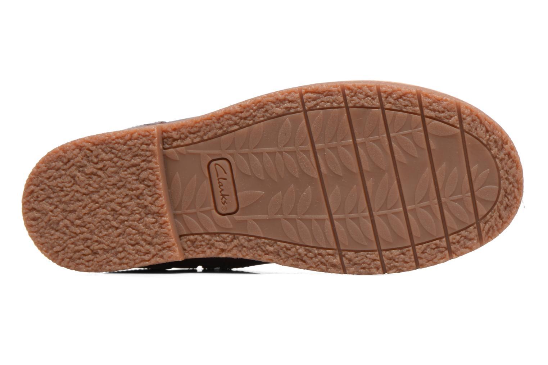 Bottines et boots Clarks Tildy Moe Bordeaux vue haut