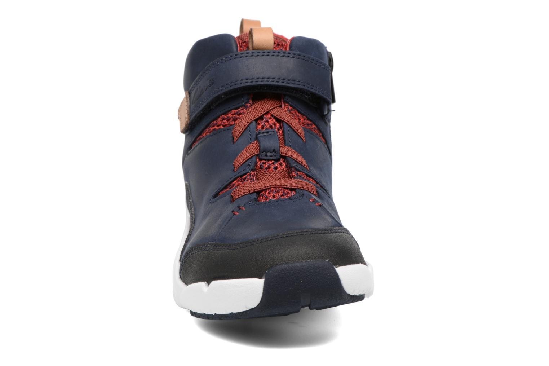 Baskets Clarks Tri Mimo Bleu vue portées chaussures