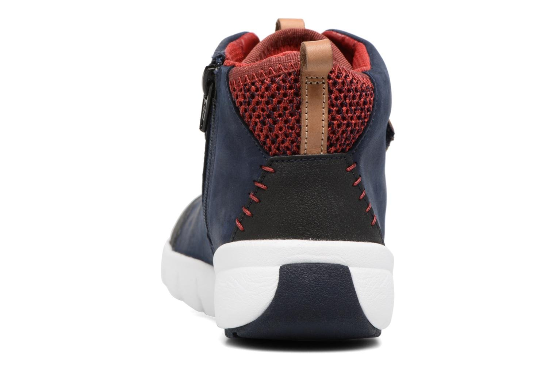Baskets Clarks Tri Mimo Bleu vue droite