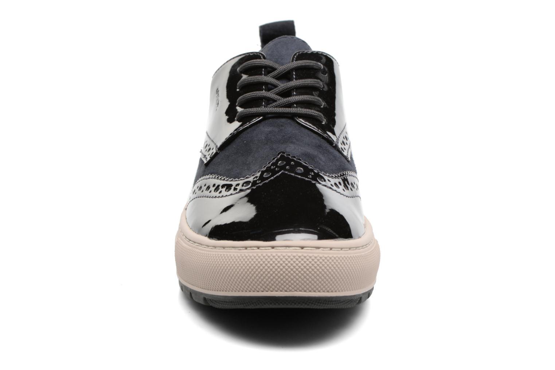 Baskets Geox D Breeda B D742QB Bleu vue portées chaussures