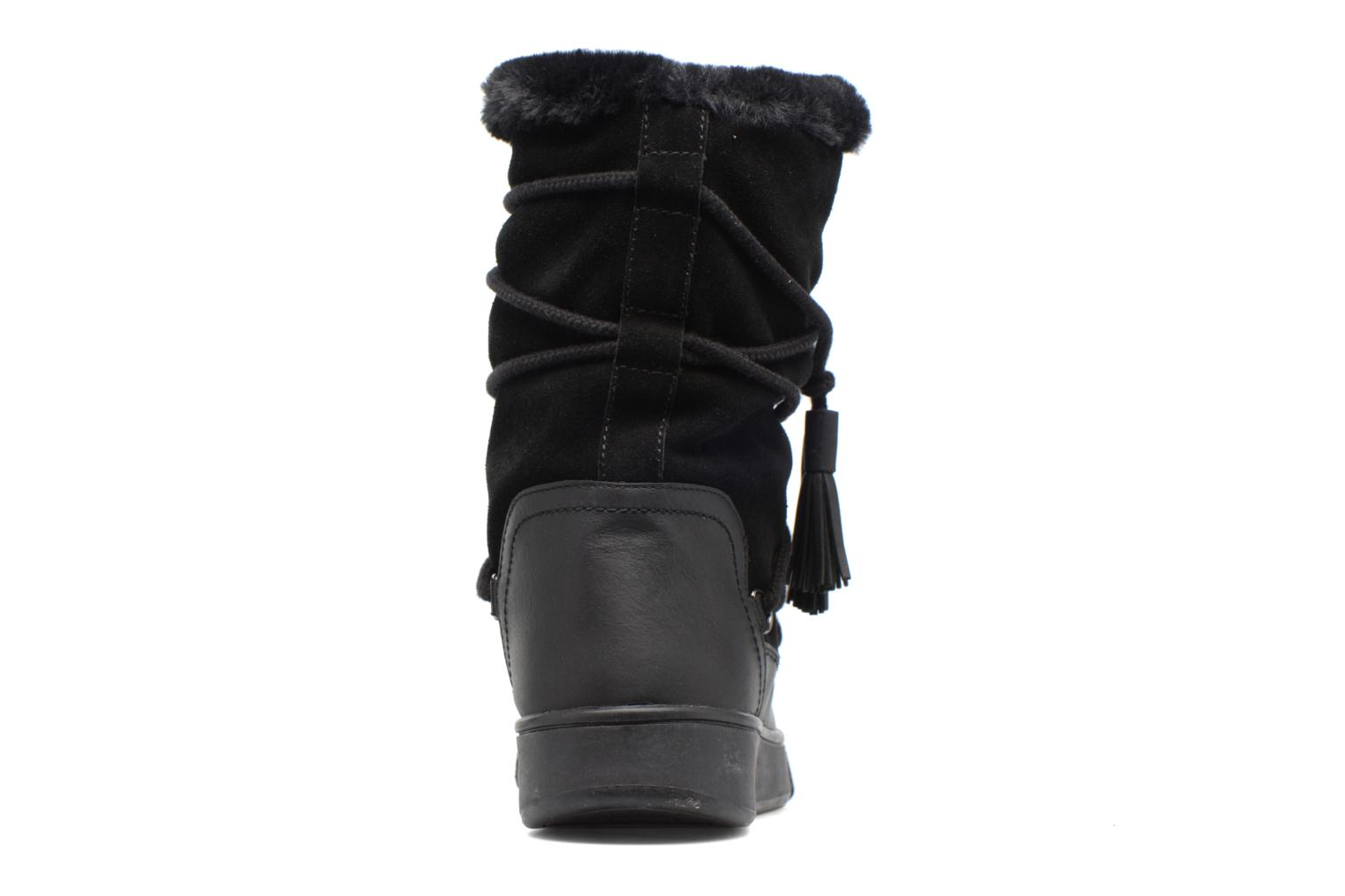 Boots & wellies Geox D Mayrah B Abx A D743MA Black view from the right