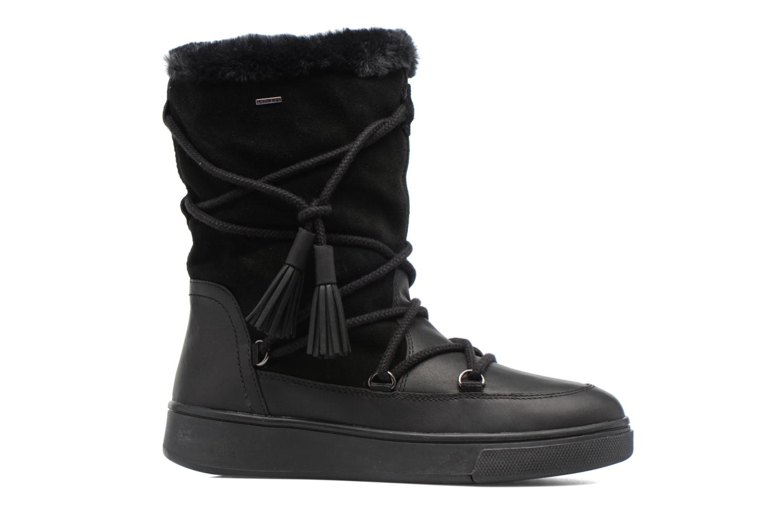Boots & wellies Geox D Mayrah B Abx A D743MA Black back view