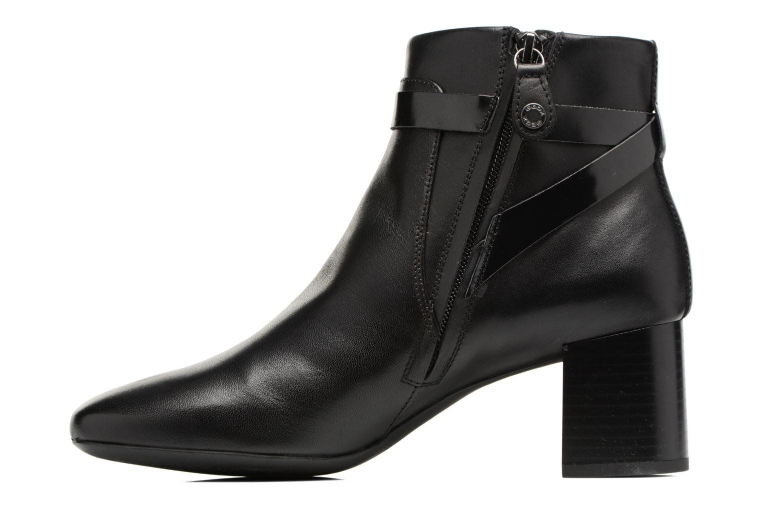Ankle boots Geox D Audalies M.B D743YB Black front view