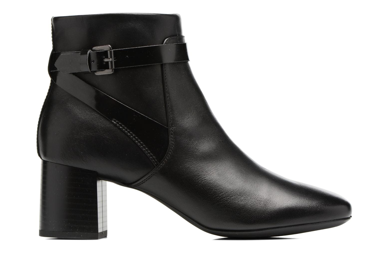 Ankle boots Geox D Audalies M.B D743YB Black back view