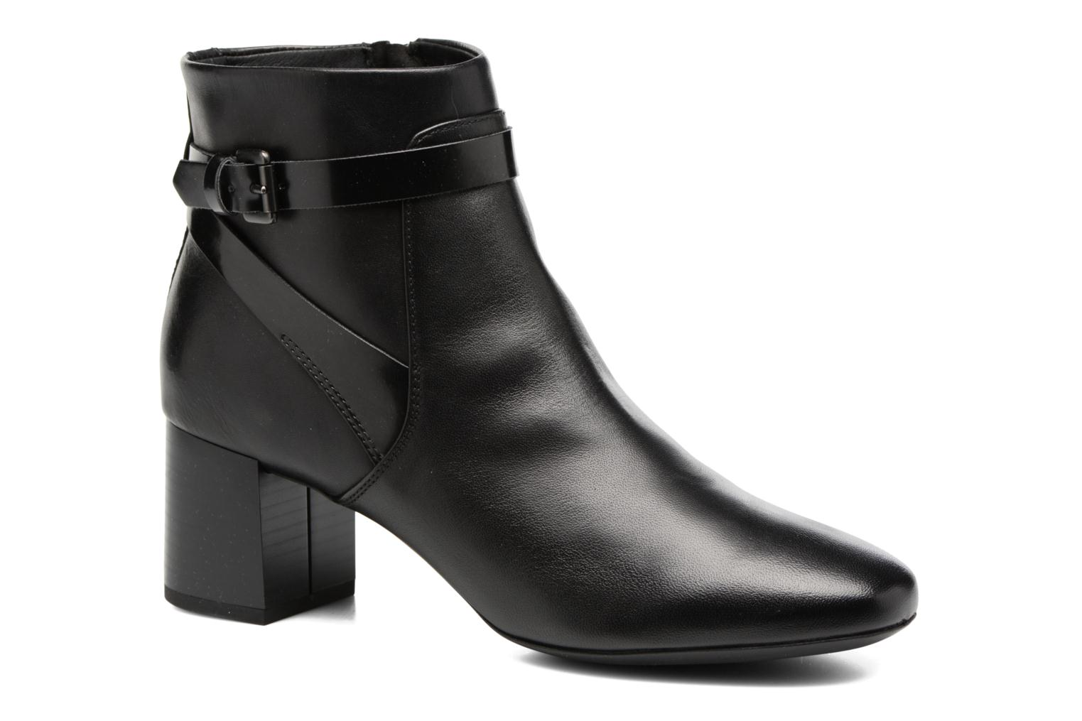 Ankle boots Geox D Audalies M.B D743YB Black detailed view/ Pair view
