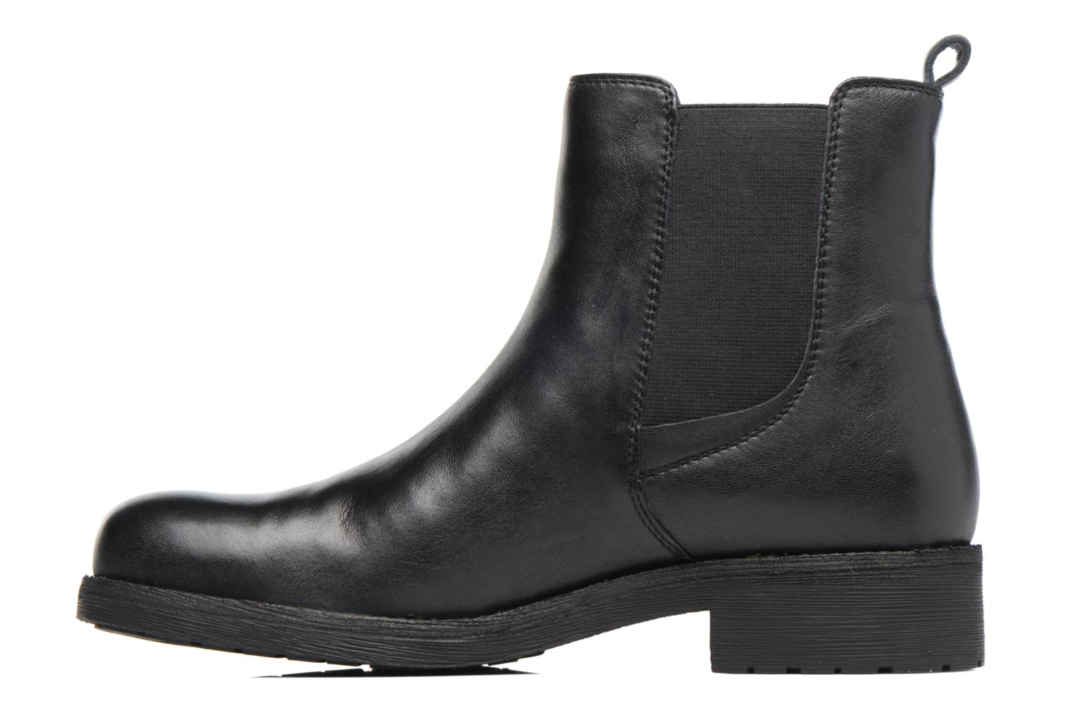 Ankle boots Geox D New Virna F D7451F Black front view
