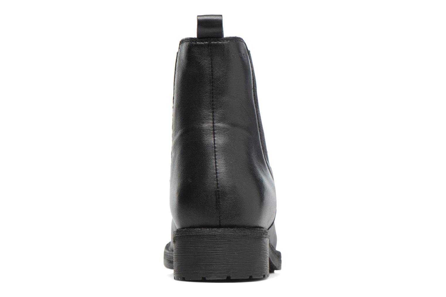 Ankle boots Geox D New Virna F D7451F Black view from the right