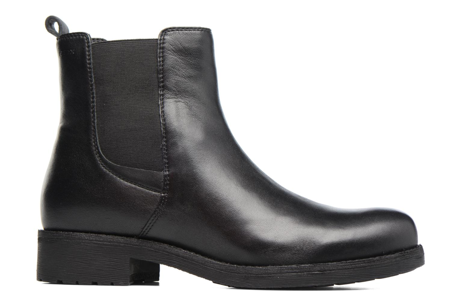 Ankle boots Geox D New Virna F D7451F Black back view