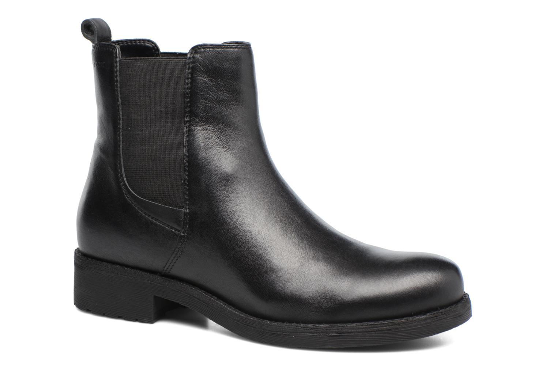 Bottines et boots Geox D New Virna F D7451F Noir vue détail/paire