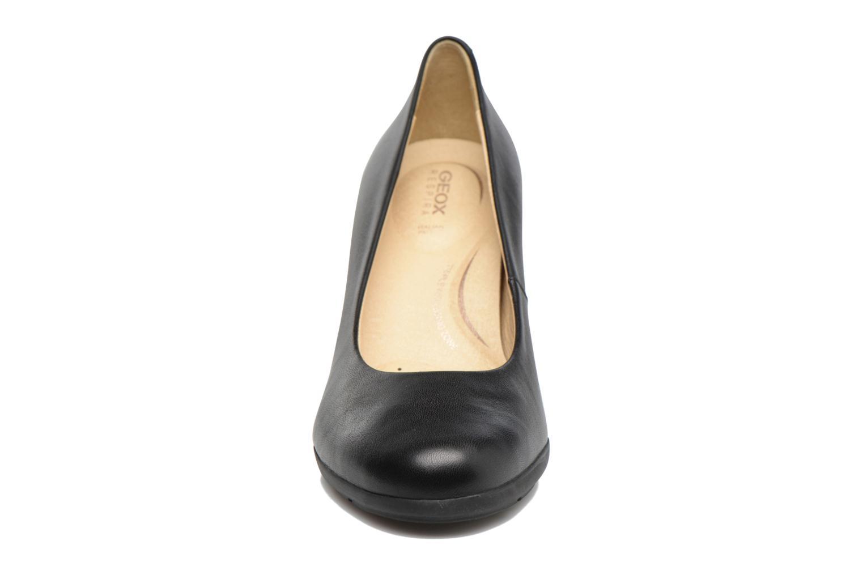 High heels Geox D Annya C D745FC Black model view