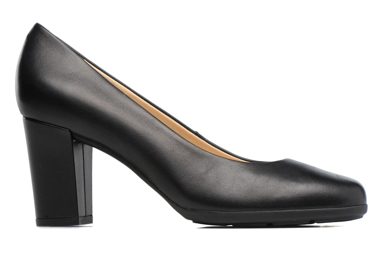 High heels Geox D Annya C D745FC Black back view