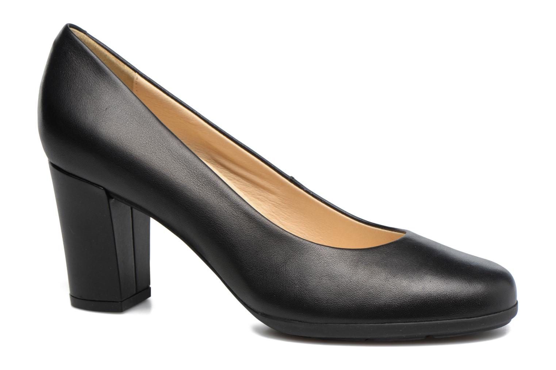 High heels Geox D Annya C D745FC Black detailed view/ Pair view