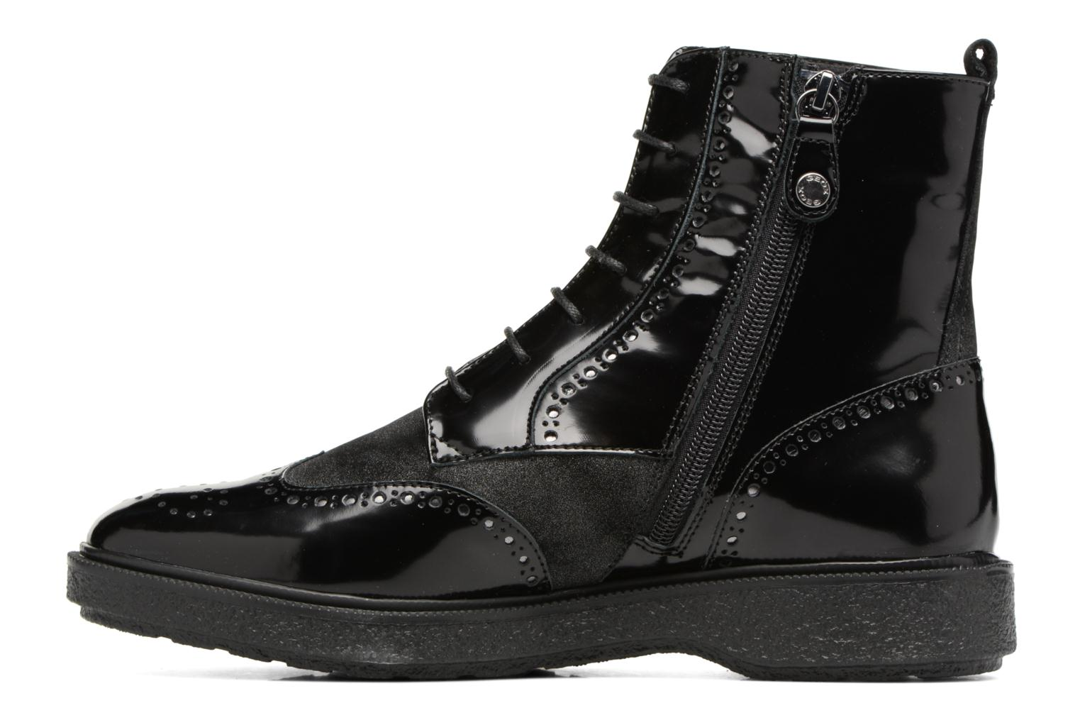 Ankle boots Geox D Prestyn A D745WA Black front view