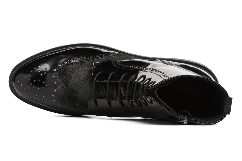 Bottines et boots Geox D Prestyn A D745WA Noir vue gauche