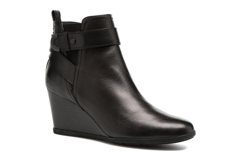Grandes descuentos últimos zapatos Geox D Inspirat.Wed D D745ZD (Negro) - Botines  Descuento