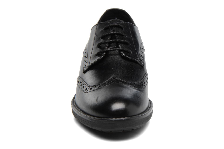 Chaussures à lacets Geox D Ettiene D D746BD Noir vue portées chaussures