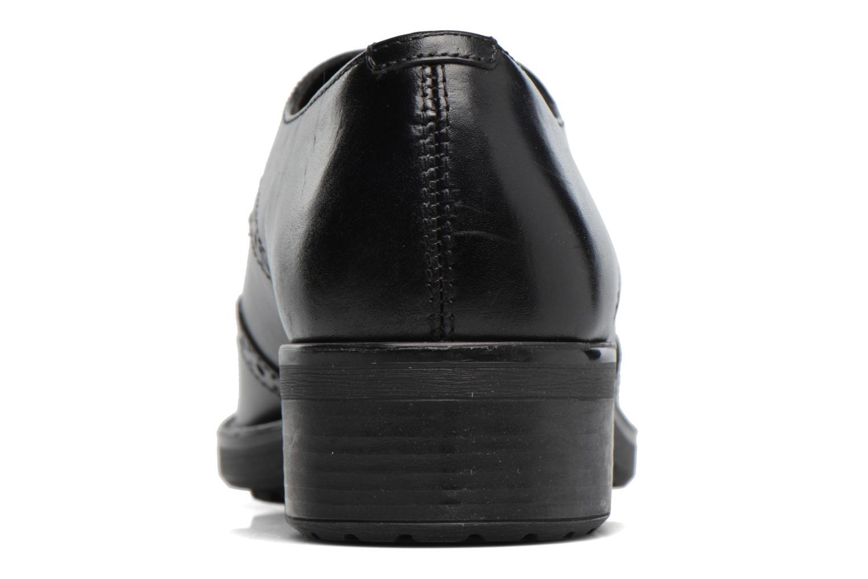 Chaussures à lacets Geox D Ettiene D D746BD Noir vue droite