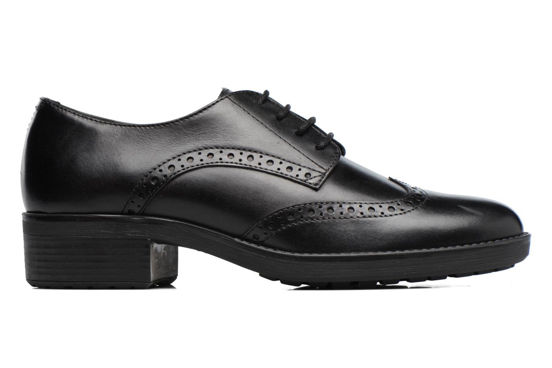 Chaussures à lacets Geox D Ettiene D D746BD Noir vue derrière