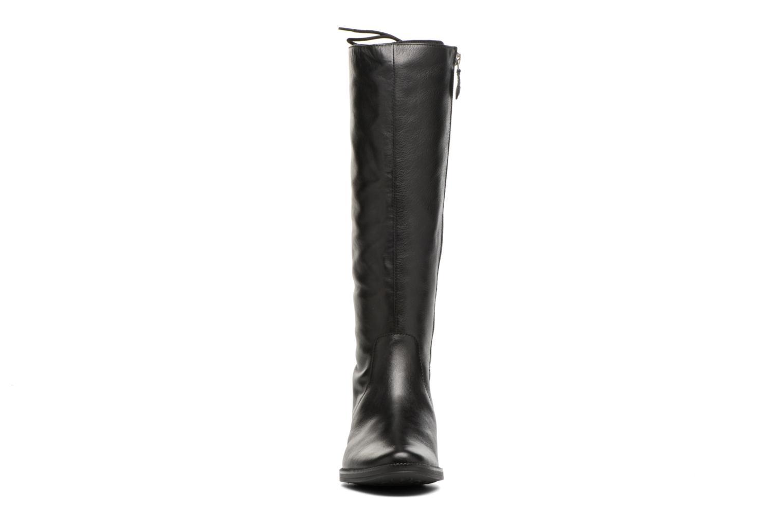 Bottes Geox D Mendi St B D7490B Noir vue portées chaussures