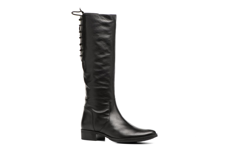Boots & wellies Geox D Mendi St B D7490B Black detailed view/ Pair view