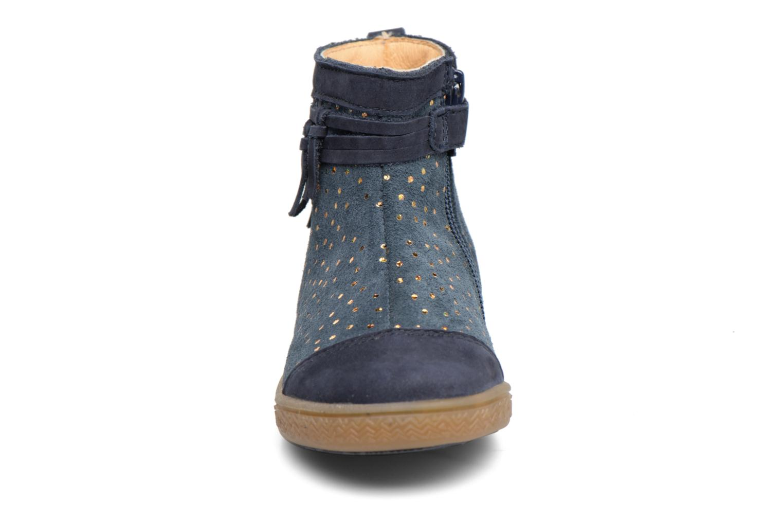 Bottines et boots Babybotte Ambalada Bleu vue portées chaussures