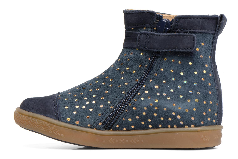 Stiefeletten & Boots Babybotte Ambalada blau ansicht von vorne